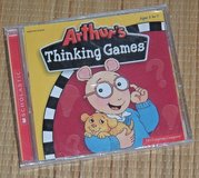 NEW Vintage 2001 Arthurs Thinking Games PC 6 Learing Adventures 30 Activities in Plainfield, Illinois
