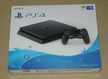 New Sony PS4 Slim 1TB Jet Black in St. Charles, Illinois