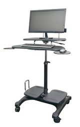 Sit to Stand Desk - Never assembled in open box in Naperville, Illinois