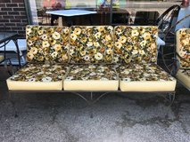Mid Century patio sofa in Batavia, Illinois