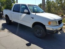 2001 Ford F150 XLT 4X4 Supercrew Pickup truck in Camp Pendleton, California