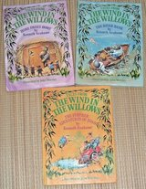 Lot of 3 Vintage 1983 Tales From The Wind In The Willows Hard Cover Book Series in Oswego, Illinois