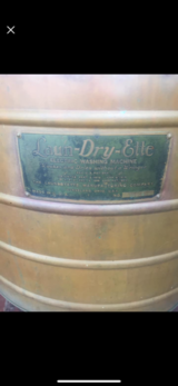 1901 antique copper washing machine laun-dry-ette free local delivery in Kingwood, Texas