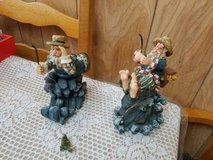 "Young's Inc ""Ole Saltz of the Sea"" Fisherman Figurines - Set of 2 in Kingwood, Texas"
