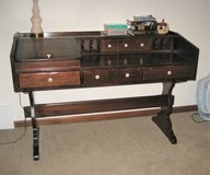 Early American Style Solid Pine Wood Desk in St. Charles, Illinois