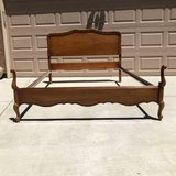 Vintage French Provincial Full Size Bed Frame in Fairfield, California
