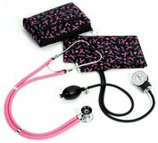 NEW prestige medical a2-prb sprague/sphygmomanometer kit with carrying case pink in Kingwood, Texas