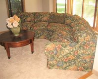 High Quality 3-Piece Sectional - Floral Fabric - Beautiful in St. Charles, Illinois