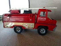 Vintage toy 1966 structo fire truck in Kansas City, Missouri