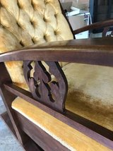 Antique rocker with new upholstery in Wiesbaden, GE