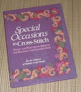 Vintage 1992 Special Occasions In Cross-Stitch Hard Cover Book Warm & Welcoming Designs Holidays... in Joliet, Illinois