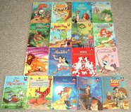 Vintage Set of 17 Walt Disney Classics Wonderful World of Reading Hard Cover Books Lot in Joliet, Illinois