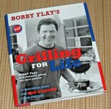 Food Network Bobby Flays Grilling For Life Hard Cover Cook Book w Dust Jacket in Yorkville, Illinois