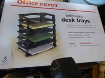 Letter size desk trays in Chicago, Illinois