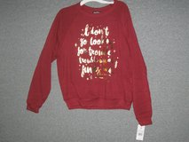 harry potter  i don't go looking for trouble etc.pullover sweatshirt  sz small in Camp Lejeune, North Carolina