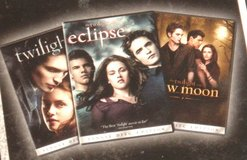 NEW Twilight Trilogy Saga Twilight New Moon Eclipse 3 Pack DVD in Oswego, Illinois