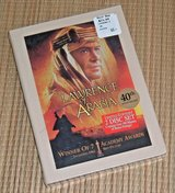 Vintage 2000 NEW Lawrence Arabia 2 Disc DVD Exclusive Ltd Edition 40th Anniv Souvenir Booklet in Oswego, Illinois