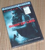 NEW Body of Lies DVD Widescreen Leonardo DiCaprio Russell Crowe Drama SEALED in Bolingbrook, Illinois