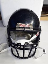 L, Med and SM/Med (3) Riddell Youth Football helmets with chin straps in Morris, Illinois