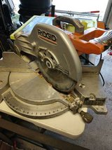 Used Ridgid 12 inch chop saw in Kansas City, Missouri