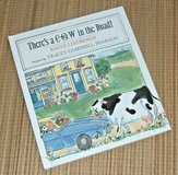 Vintage 1993 Theres A Cow In The Road Hard Cover Book in Plainfield, Illinois