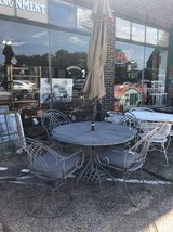 Gray 6 Piece Patio Dining Set in Naperville, Illinois