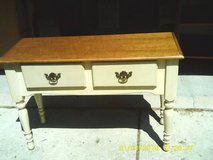 reduced///////FOYER TABLE  /  SOFA TABLE CARSON COLLECTION WOOD in Westmont, Illinois