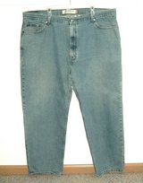 Levis 550 Relaxed Fit Stonewash Jeans Mens Tag 46 x 30 Measures 44 x 29 in Morris, Illinois
