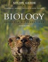 study guide & book bundle biology : concepts and connections by neil a. campbell in Miramar, California