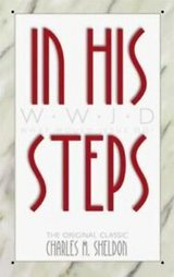 (2 book bundle) in his steps : what would jesus do? and the bible promise book in Miramar, California