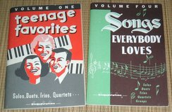Vintage 1958 & 1963 Singspiration Songbooks Teenage Favorites & Songs Everybody Loves in Chicago, Illinois