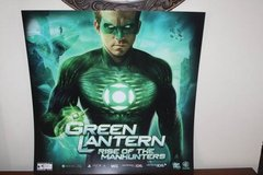Green Lantern Rise of the Manhunters Display Poster in Kingwood, Texas
