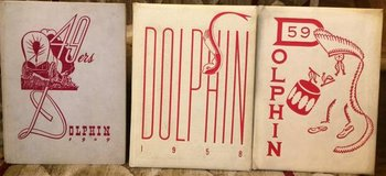 Vintage Yearbooks from Weber HighSchool Chicago Dolphin 1949 1958 1959 in Glendale Heights, Illinois