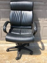 Executive office chair black good condition in Joliet, Illinois