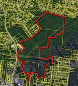 3 adjoining tracts with a total of 175 acres. in Clarksville, Tennessee