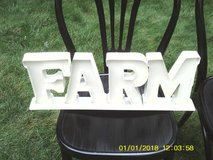 METAL FARM SIGN in Westmont, Illinois