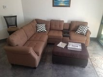 New Sectional with USB Console FREE DELIVERY in Miramar, California