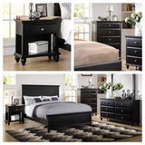New! Black Chest $220 or Nightstand $89 FREE DELIVERY starting in Miramar, California