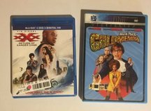 xxx: return of xander cage (blu-ray/dvd, 2017) and austin powers goldmember in Glendale Heights, Illinois
