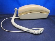 BELL SYSTEM Trimline Push Button Telephone Phone Ivory / Beige 1974 in Naperville, Illinois