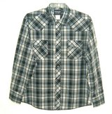 Wrangler Western Shirts Blue Plaid Pearl Snaps 2 Pocket Mens XL in Chicago, Illinois