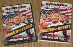 Talladega Nights Ballad of Ricky Bobby DVD SlipCover Will Ferrell Unrated Uncut in Oswego, Illinois