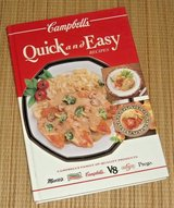 Vintage 1993 Campbells Quick Easy Recipes Hard Cover Book Franco Prego Swanson in Oswego, Illinois