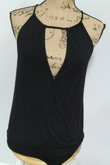 Melrose and Market Black Sexy Bodysuit, Small in Aurora, Illinois