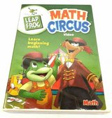 Leap Frog Math Circus Video DVD Numbers Counting Addition Subtraction in Plainfield, Illinois