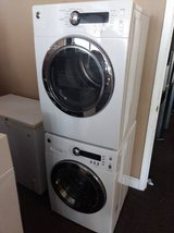 GE Stackable Front Loader Washer and Dryer in Beaufort, South Carolina