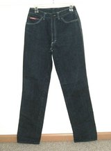 RARE Vintage Ferrari Milano High Waisted Jeans Womens Tag 44 Measures 27 x 33.5 in Chicago, Illinois