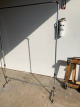 Clothes Rack Made From Galvanized Steel Water Pipes in Tomball, Texas
