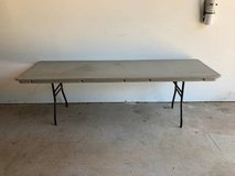 Commercial Grade Heavy Duty Folding Tables - 7 Sold / 2 Tables Left in The Woodlands, Texas