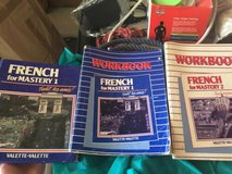 french student books- salut, les amis!  french for mastery workbooks, dictionary in Miramar, California